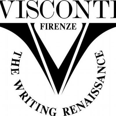 Logo de la marque de stylo Visconti
