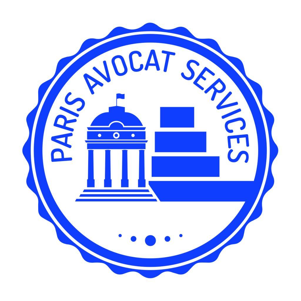 Logo avec l'ancien et le nouveau palais de justice de Paris